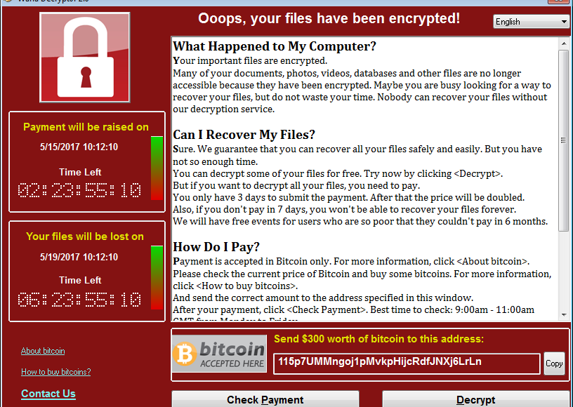Wanna Cry Ransomware Guidelines to stay safe